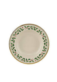Lenox Holiday Rim Soup