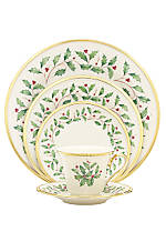 Holiday 5 PC Place Setting