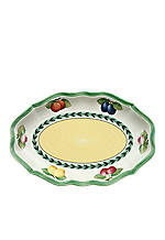 French Garden Fleurence Pickle Dish