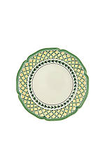 French Garden Orange Salad Plate