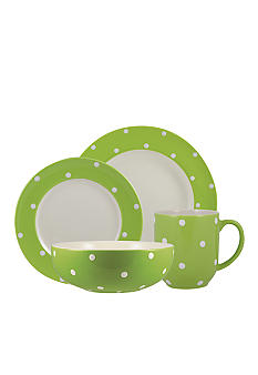 Spode Baking Days Green Dinnerware