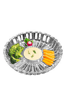 Crystal Clear Alexandria Relish Tray