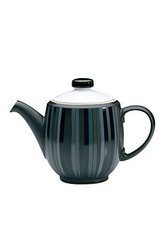 Denby JET STRIPES TEAPOT