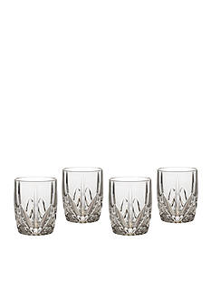 Marquis by Waterford Brookside Double Old Fashioned Set of 4