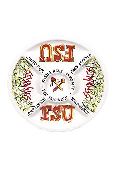 Florida State Seminoles Divided Veggie Plate