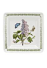 """Botanic Garden 10.5"""" Square Dinner Plate"""
