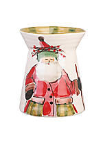 Old St. Nick Santa Utensil Holder 7-in. H