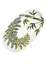Painted Palms Small Oval Platter