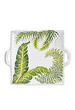 Painted Palms Square Platter