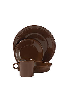 Fiesta Chocolate Dinnerware and Accessories