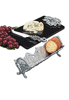 Arthur Court Grape Cheese/Cracker Set of 3