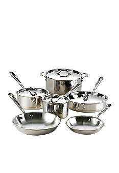 All-Clad Copper Core 10 Pc. Cookware Set