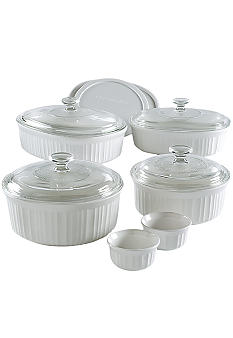 Corningware 12 pc. French White Casserole Set
