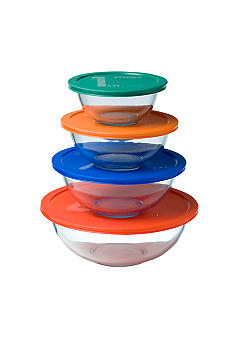 Pyrex 8 Pc. Mixing Bowl Set