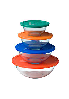 Pyrex 8-Piece Mixing Bowl Set