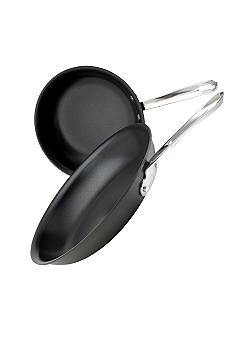 Emerilware Hard Anodized Set of 2 Fry Pans