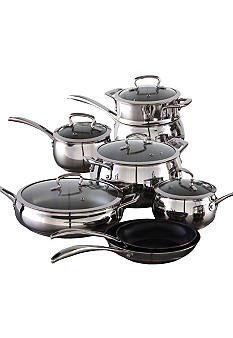 Biltmore For Your Home Belly Shaped 13pc. Stainless Cookware Set