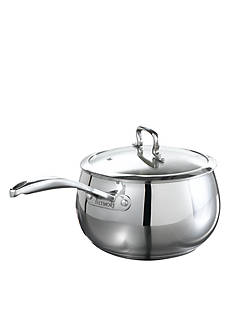 Biltmore 4-qt. Stainless Steel Belly Shaped Saucepan