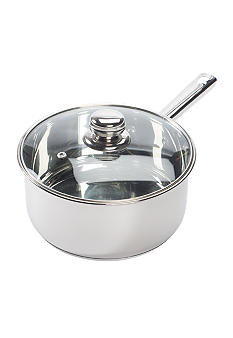 Cooks Tools™ 3 Qt. Stainless Steel Covered Sauce Pan