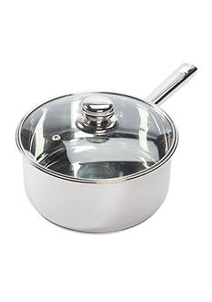 Cooks Tools™ 3-qt. Stainless Steel Covered Saucepan