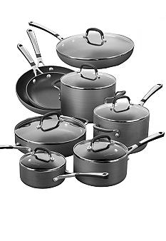 Calphalon Simply 14 Pc. Hard Anodized Non-Stick Cookware Set