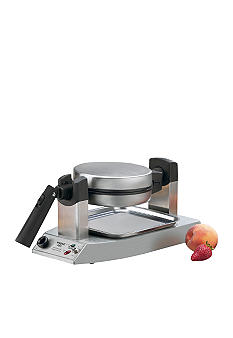 Waring Brushed Stainless Steel Rotary Waffle Maker WMK300A