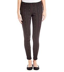 Jolt® Printed Ponte Pants
