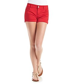 Celebrity Pink Roll Cuff Shorts