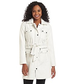 XOXO® Cargo Trench Coat