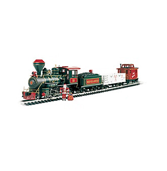 "Bachmann Trains® Christmas Eve Large ""G"" Electric Train Set"