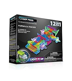 Laser Pegs® Lighted Construction Toy 12-in-1 Formula Racer