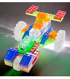 Laser Pegs® Lighted Construction Toy 6-in-1 Dragster
