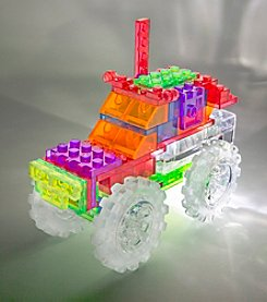 Laser Pegs® Lighted Construction Toy - 6-in-1 Monster Truck