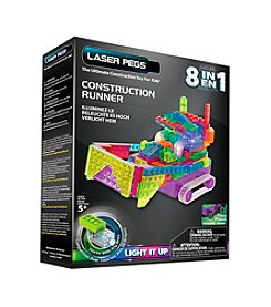 Laser Pegs® Lighted Construction Toy - 8-in-1 Construction Runner