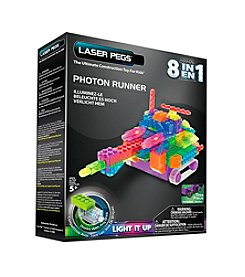 Laser Pegs® Lighted Construction Toy 8-in-1 Photon Runner
