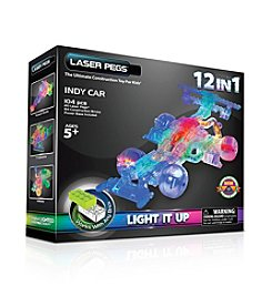 Laser Pegs® Lighted Construction Toy 12-in-1 Indy Car