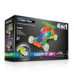 Laser Pegs® Lighted Construction Toy MPS 4-in-1 Cars