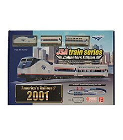 LEC USA® 2001 Amtrak National Railroad Passenger Train Set