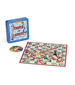 Winning Solutions® Chutes & Ladders Board Game Nostalgia Edition Tin