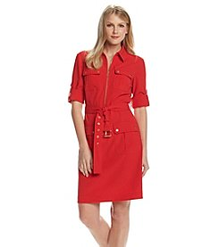 MICHAEL Michael Kors® Belted Shirt Dress
