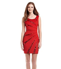 GUESS Starburst Sheath Dress
