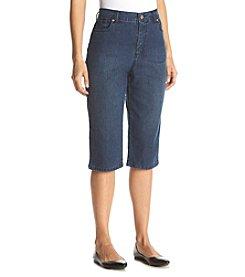 Gloria Vanderbilt® Petites' Amanda Embellished Skimmer Jeans
