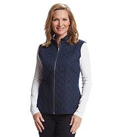 Alfred Dunner® Sausalito Reversible Stripe Vest
