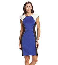 Ronni Nicole® Colorblock Scuba Dress