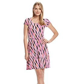 MICHAEL Michael Kors® Printed Flare Dress