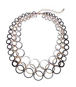 Relativity® Tri-Tone Three Row Circle Link 16