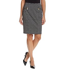 MICHAEL Michael Kors® Champlin Print Pencil Skirt