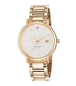 kate spade new york® Gramercy Grand Goldtone Stainless Steel Watch