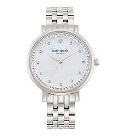 kate spade new york® Silvertone Monterey Stainless Steel Watch