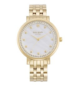 kate spade new york® Monterey Goldtone Stainless Steel Watch